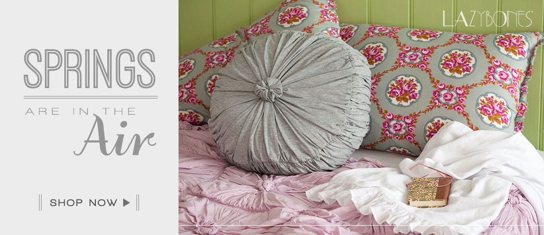 Springs are in the Air - Lazybones  Bedding