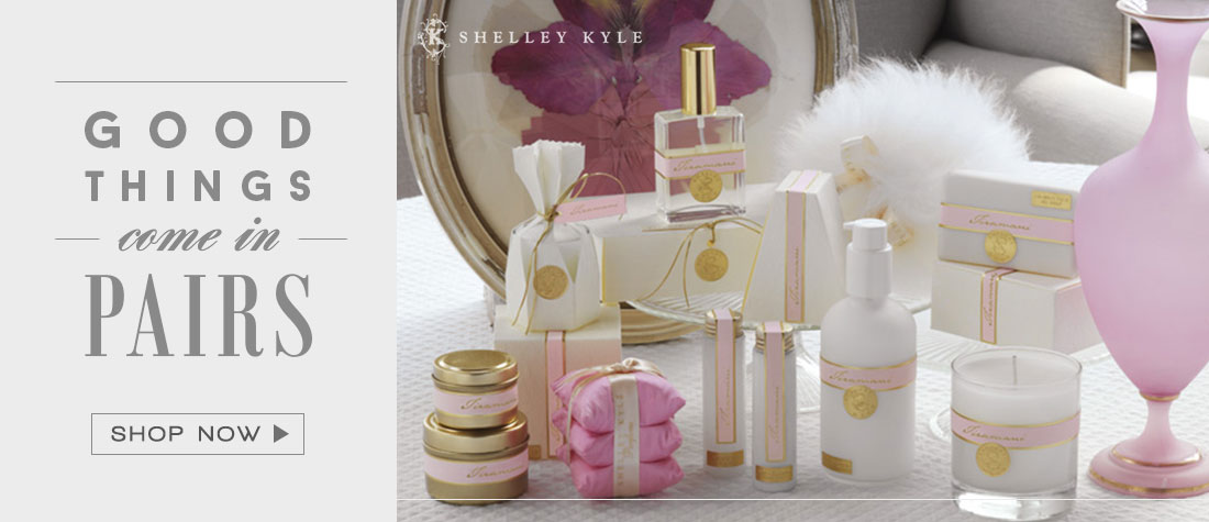 Good things come in pairs! - Shelley Kyle Parfums