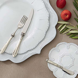 Shop Arte Italica Bella Bianca Dinnerware At Peace, Love & Decorating. FREE SHIPPING on All Orders!