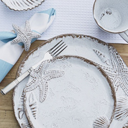 Shop Arte Italica Marina Dinnerware At Peace, Love & Decorating. FREE SHIPPING on All Orders!