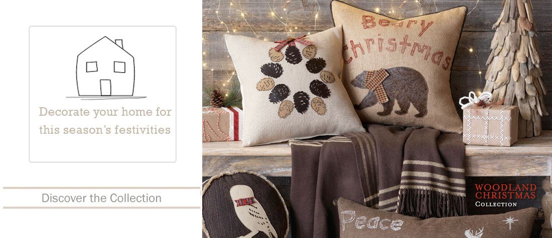 Shop the Woodland Christmas Collection!