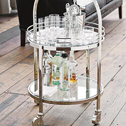 Bar Carts and Liquor Cabinets