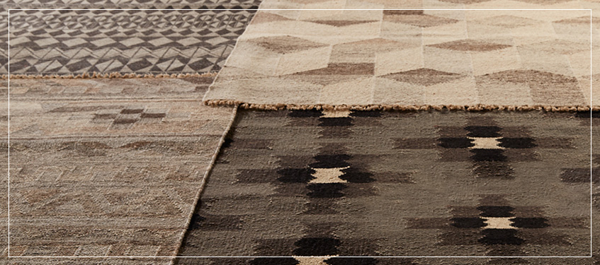 Flatweave Area Rugs | Luxury Home Decor | Rugs with Geometric Design