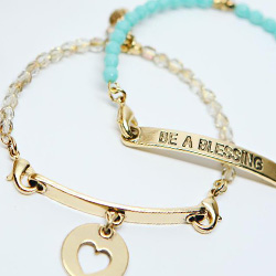 Lenny & Eva Mix & Match Collection | Beaded Bangles & Mix and Match Sentiments