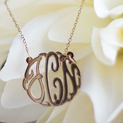 Maya J NYC Women's Jewelry | Personalized Necklaces & Monogrammed Bracelets