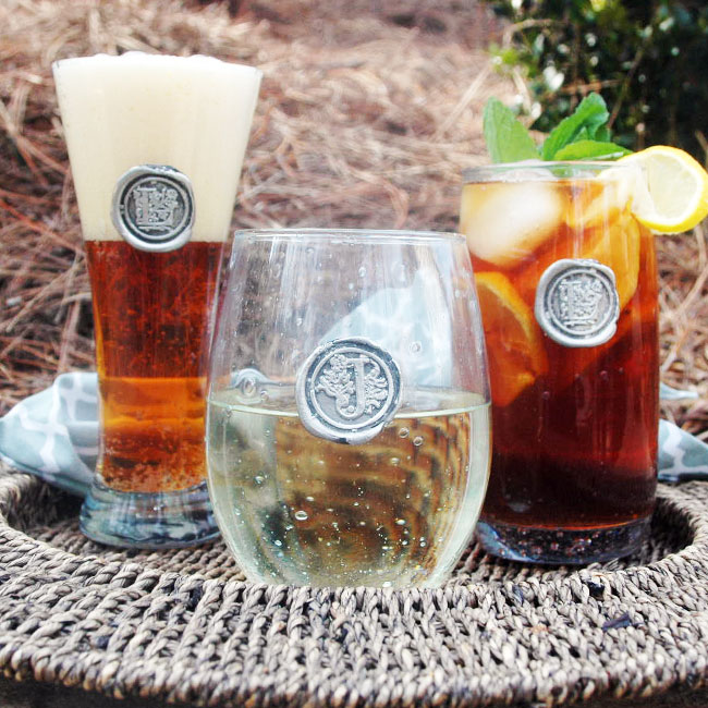 Personalized Glassware | Custom Wine Glasses from Southern Jubilee