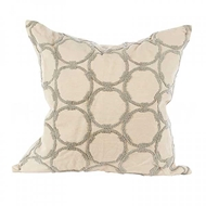 Aidan Gray Home Accessories Circles Pillow P20 CIR CG