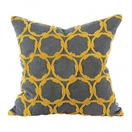 Aidan Gray Home Accessories Circles Pillow P20 CIR NM