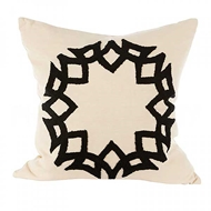 Aidan Gray Home Accessories Crown Pillow P20 CRO CBLK