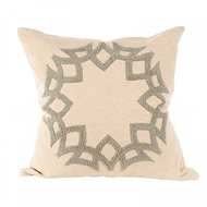 Aidan Gray Home Accessories Crown Pillow P20 CRO CG