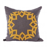 Aidan Gray Home Accessories Crown Pillow P20 CRO NM