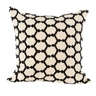 Aidan Gray Home Accessories Hex Pillow P20 HEX CBLK