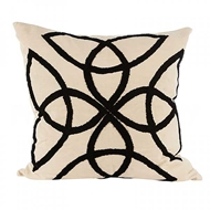 Aidan Gray Home Accessories Mod Clover Pillow P20 MOD CBLK