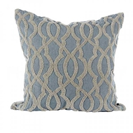 Aidan Gray Home Accessories Ripples Pillow P20 RIP BG