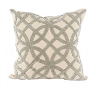 Aidan Gray Home Accessories Trellis Pillow P20 TRE CG
