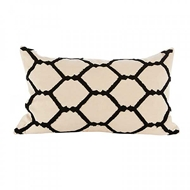 Aidan Gray Home Accessories Neko Pillow PL12 HEX CBLK
