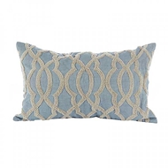 Aidan Gray Home Accessories Ripples Pillow PL12 RIP BG