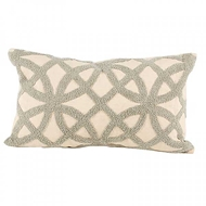 Aidan Gray Home Accessories Trellis Pillow PL12 TRE CG