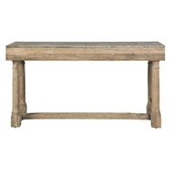 Aidan Gray Home Miranda Console With Stone Top F715-Boiled Natural Wood