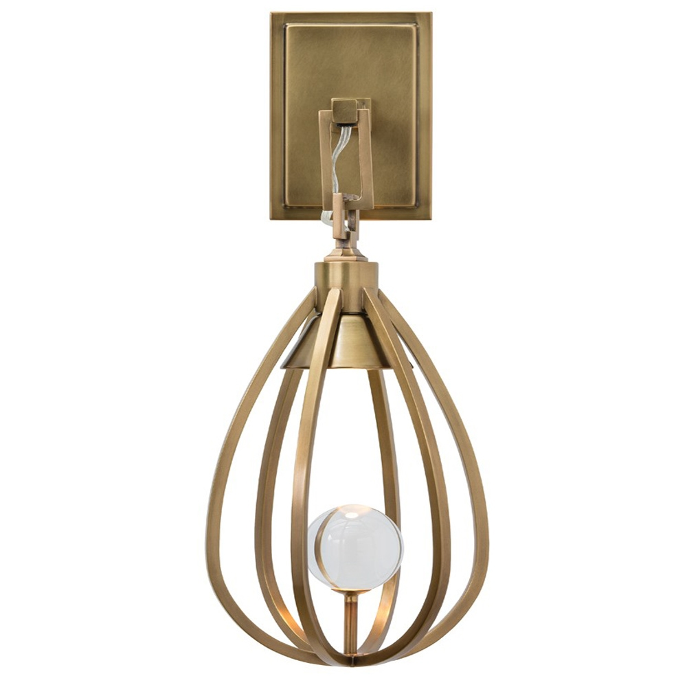 arteriors athena sconce with antique finish in yellow arteriors home arteriors yasmin sconce bathroom vanity