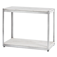 Arteriors Home Accessories Iro Table With Vintage Silver Finish In Gray