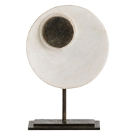 Arteriors Home Accessories Keoni Sculpture With White Finish In White