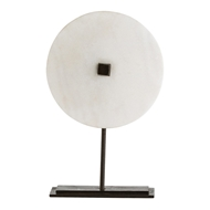 Arteriors Home Accessories Kiev Sculpture With White Finish In White