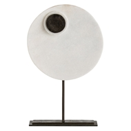 Arteriors Home Accessories Kip Sculpture With White Finish In White