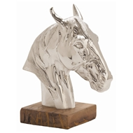 Arteriors Home Accessories Leighton Sculpture With Polished Aluminum Finish In Gray