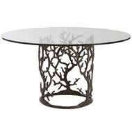 Arteriors Home Furnishings Ursula Entry Table With Natural Iron Finish In Gray