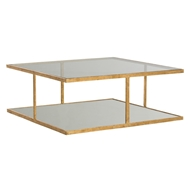 Arteriors Home Barlow Cocktail Table 2687 Yellow - Iron