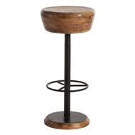 Arteriors Home Caymus Bar Stool 6121 Brown - Wood