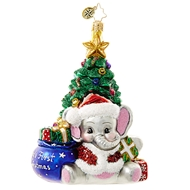 Christopher Radko A Trunk-Ful First Baby%27s First Christmas Ornament