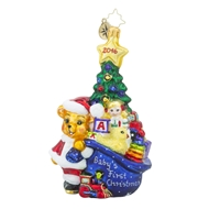 Christopher Radko First Glimpse Baby%27s First Christmas Ornament