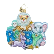 Christopher Radko Lullaby Baby Christmas Ornament