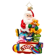 Christopher Radko Toys For All Baby Ornament