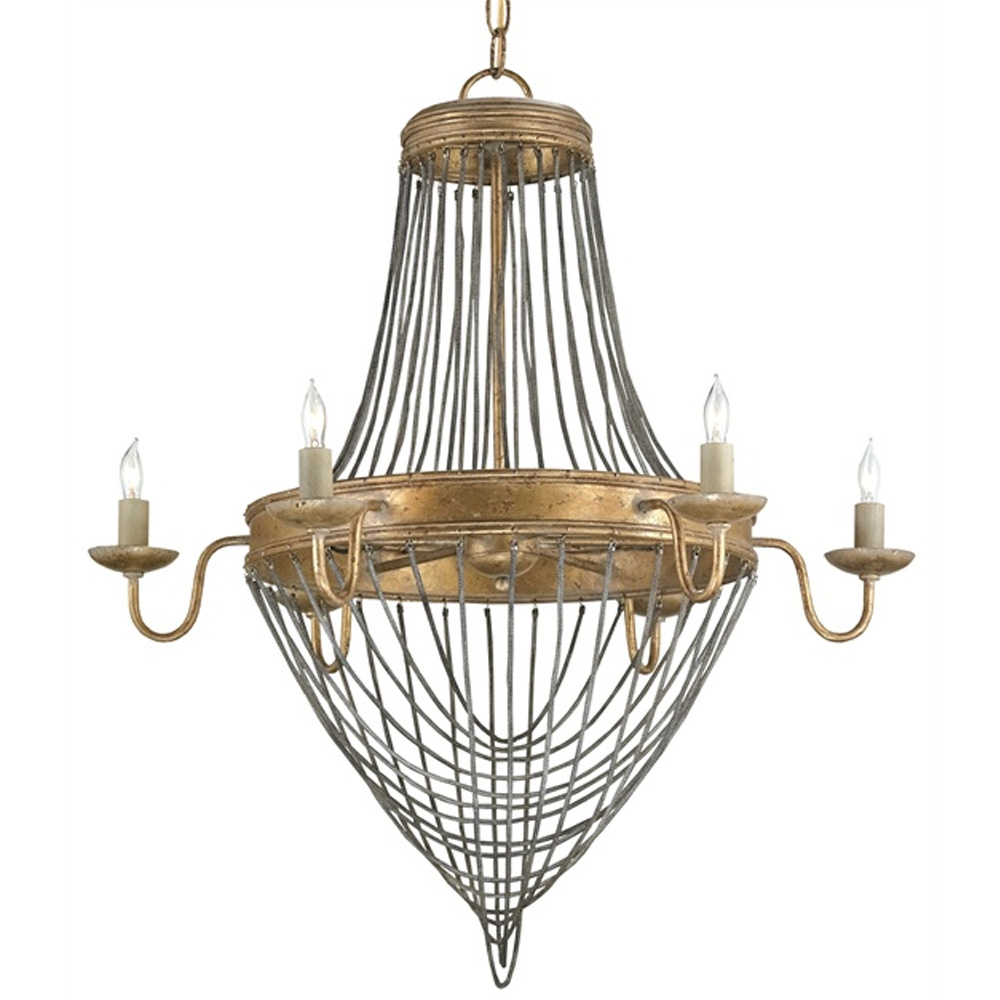 Currey And Company Lucien: Currey Company Lighting Lucien Chandelier,Small 9411
