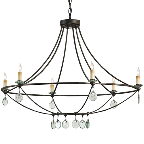 Currey And Company Orb Chandelier: Currey Company Lighting Novella Chandelier 9921