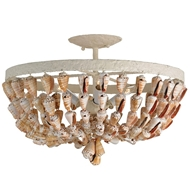 Currey Shade-Waterside ceiling Mount