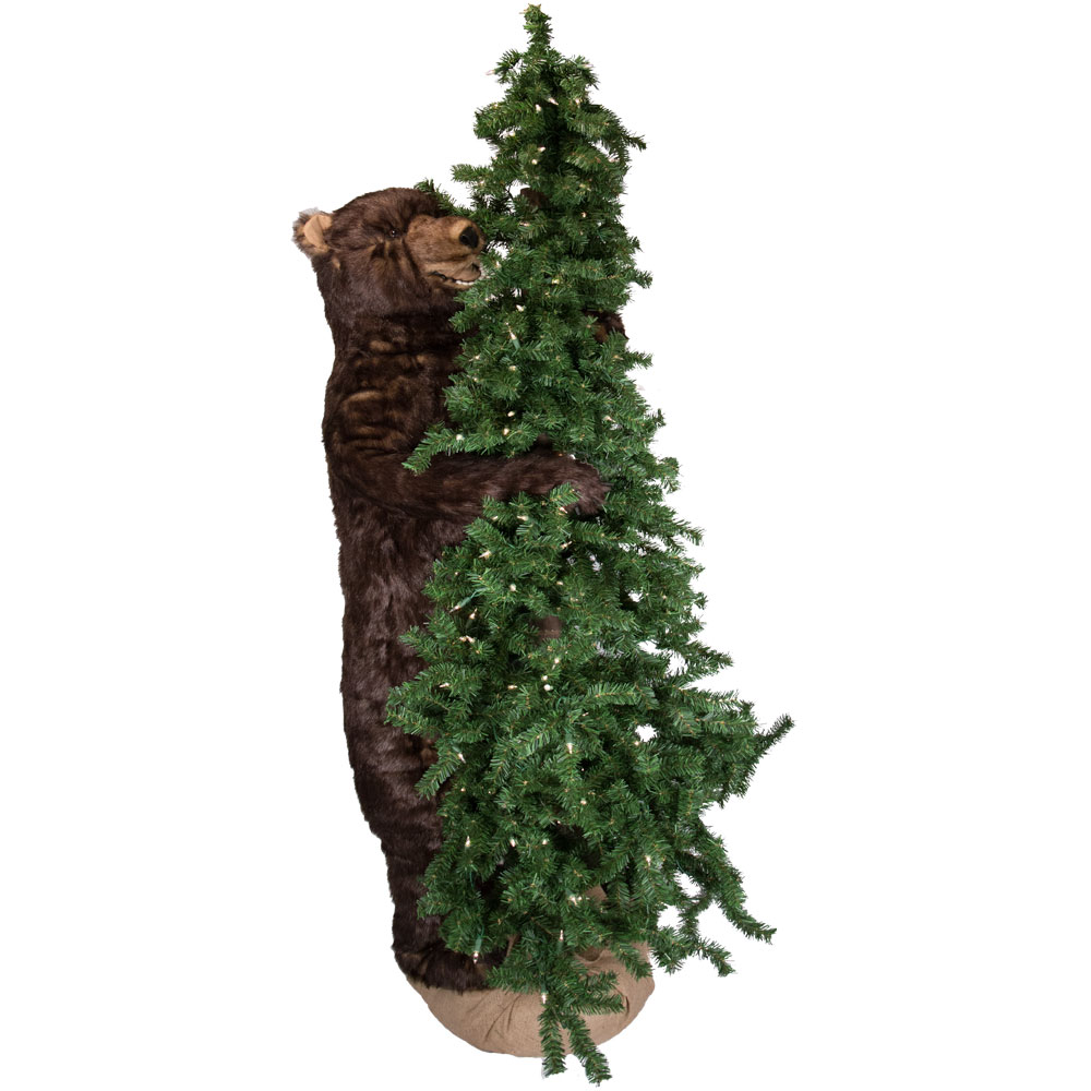 Ditz designs bear christmas trees lighted alpine tree bear for Alpine decoration