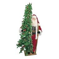 Ditz Designs Birdwatcher 3rd Edition Father Christmas With Tree