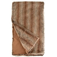 Fabulous Furs Coyote Faux Fur Throw Limited Edition