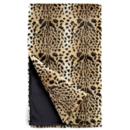 Fabulous Furs Leopard Faux Fur Throw Signature Collection fabulous furs by donna saylers