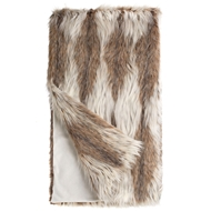 Fabulous Furs Russian Lynx Faux Fur Throw Limited Edition