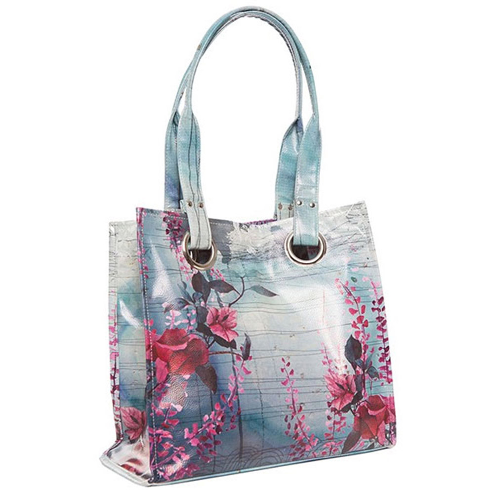 Papaya Art Fireweed Luxe Tote Bag papaya art
