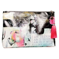Papaya Art Swallows Large Accessory Pouch - Women%27s Accessories