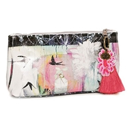 Papaya Art Swallows Small Accessory Pouch - Women%27s Accessories