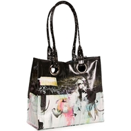 Papaya Art Swallows Luxe Tote Bag - Women%27s Accessories