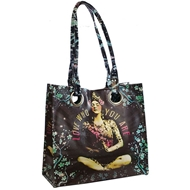 Papaya Art Temple Girl Luxe Tote - Women%27s Accessories