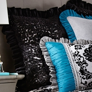 Rogue Designs - Lace European Sham - Diva Bedding